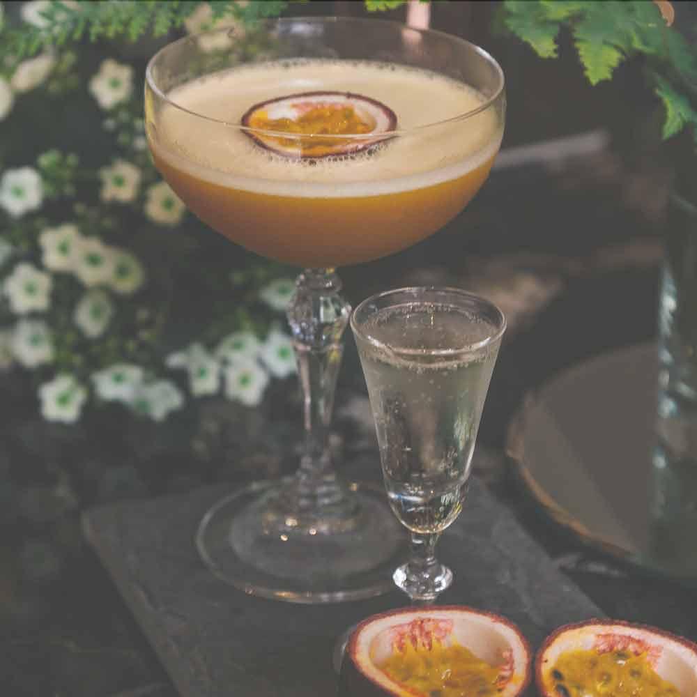 Passion Fruit Martini cocktail recipe