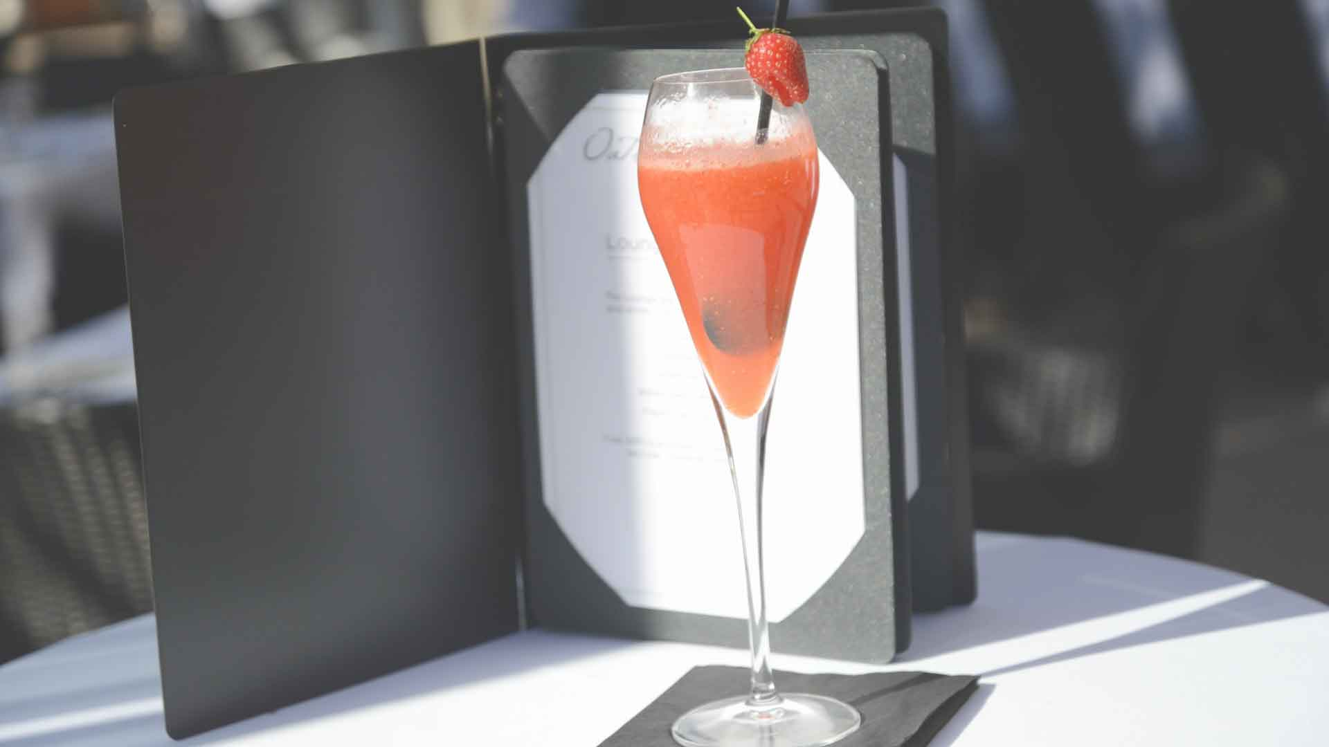 Our strawberry delight cocktail