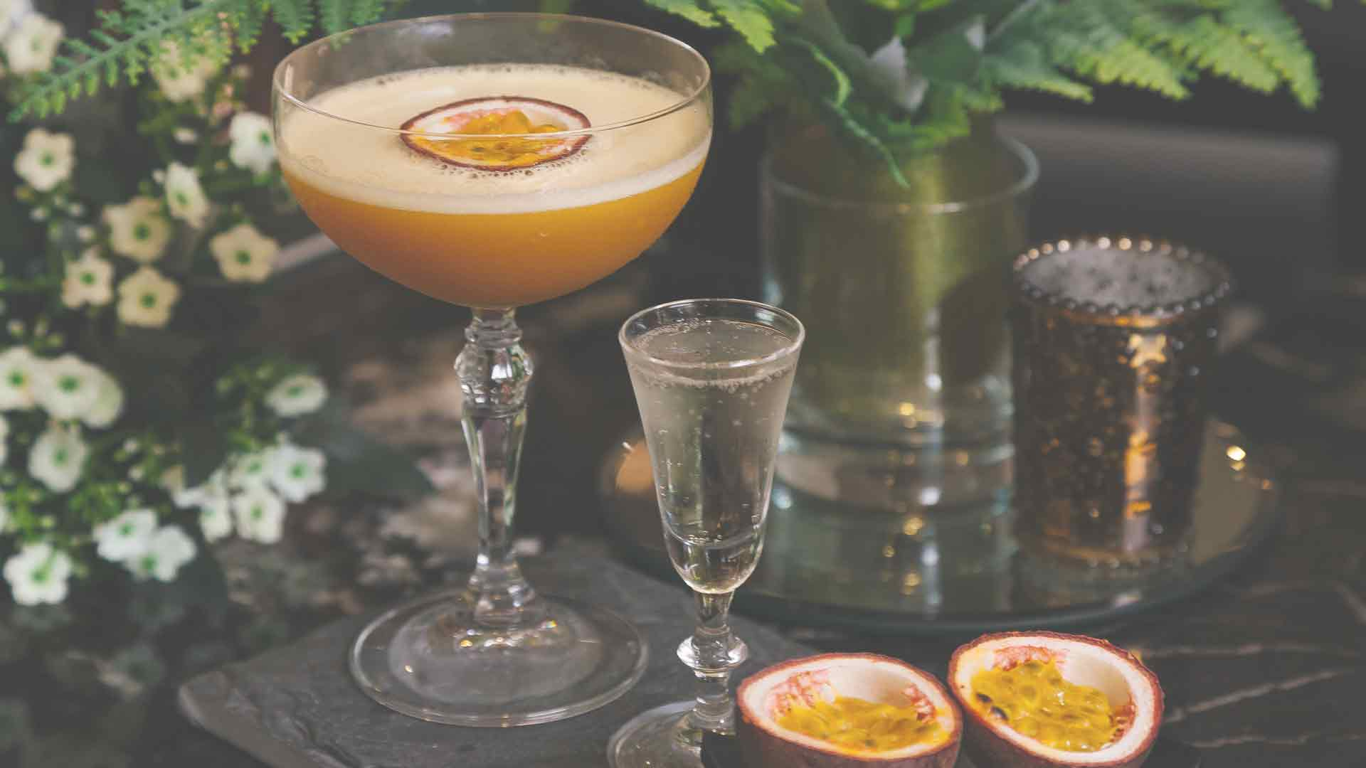 Our Passion Fruit Martini
