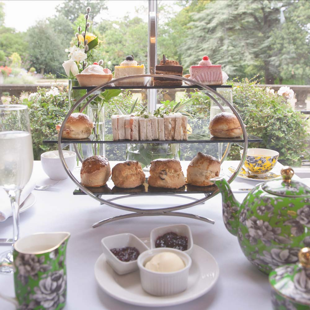 Afternoon Tea served in the Mulberry Restaurant