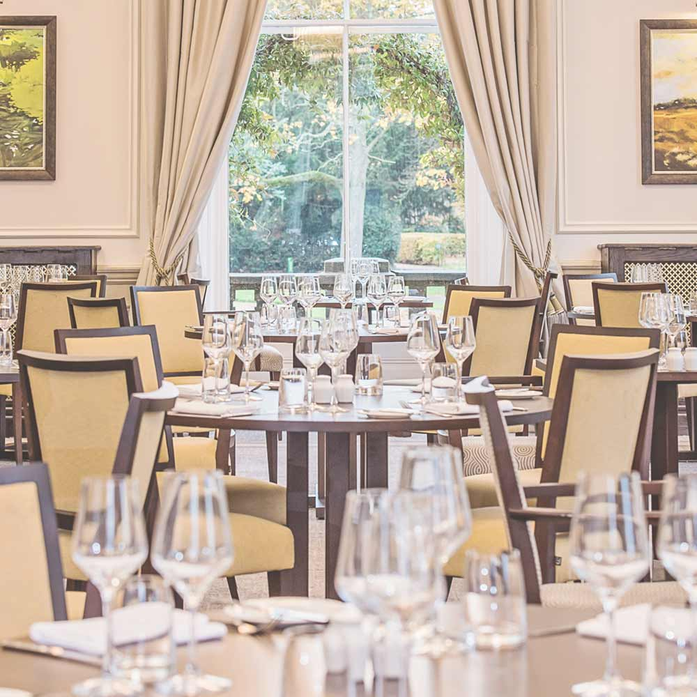 Dining in the Mulberry restaurant