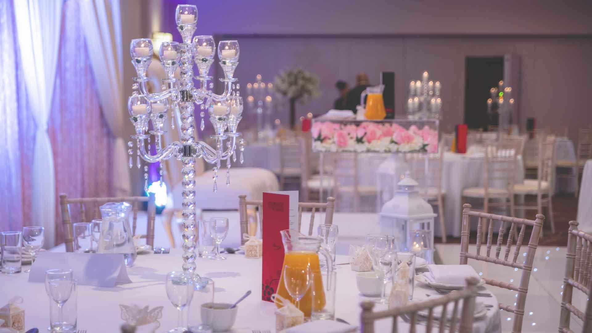 Dry Hire weddings