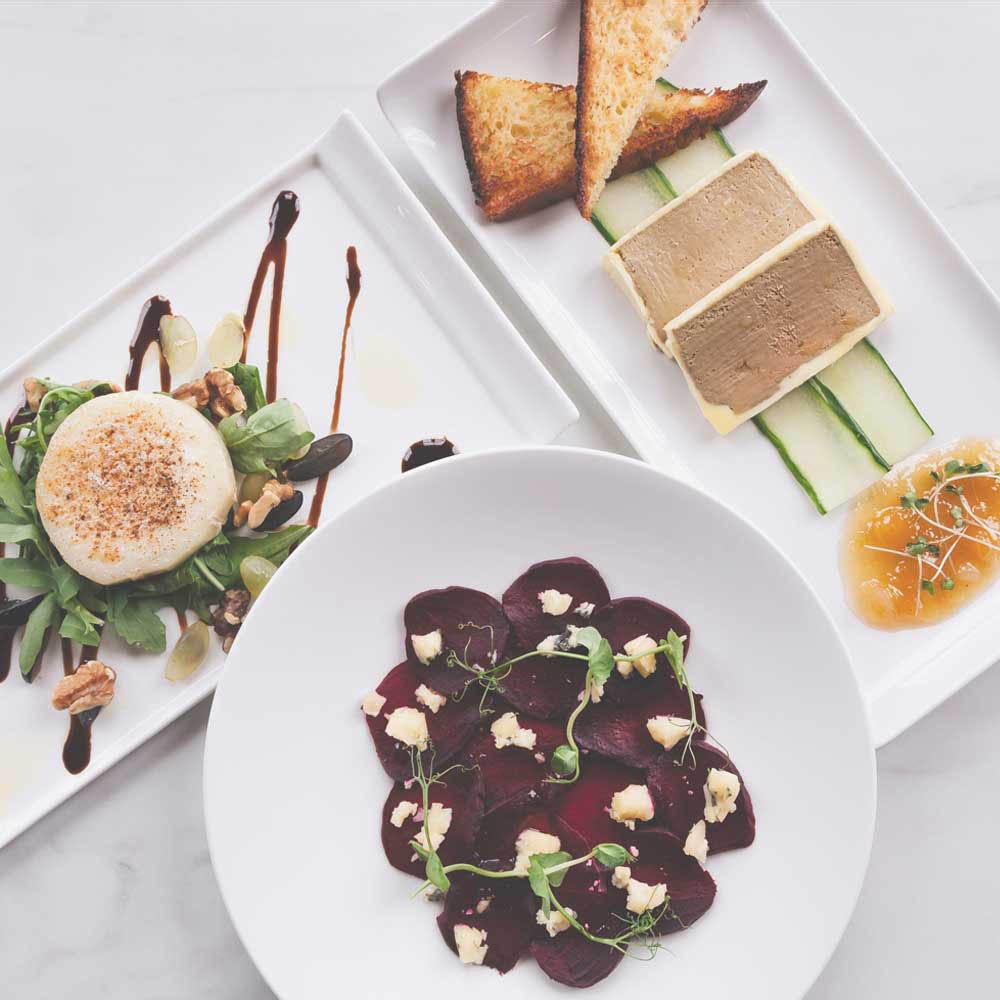 Set lunch menu offer