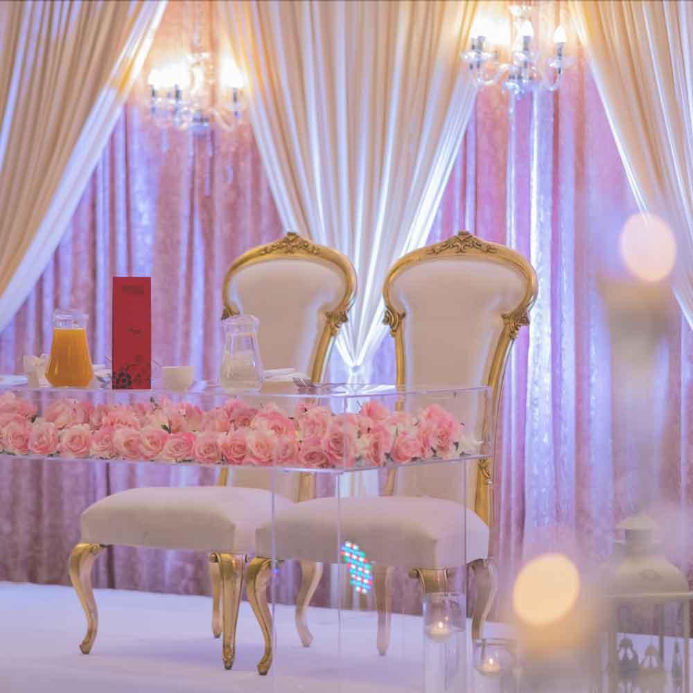 Dry-hire wedding venue