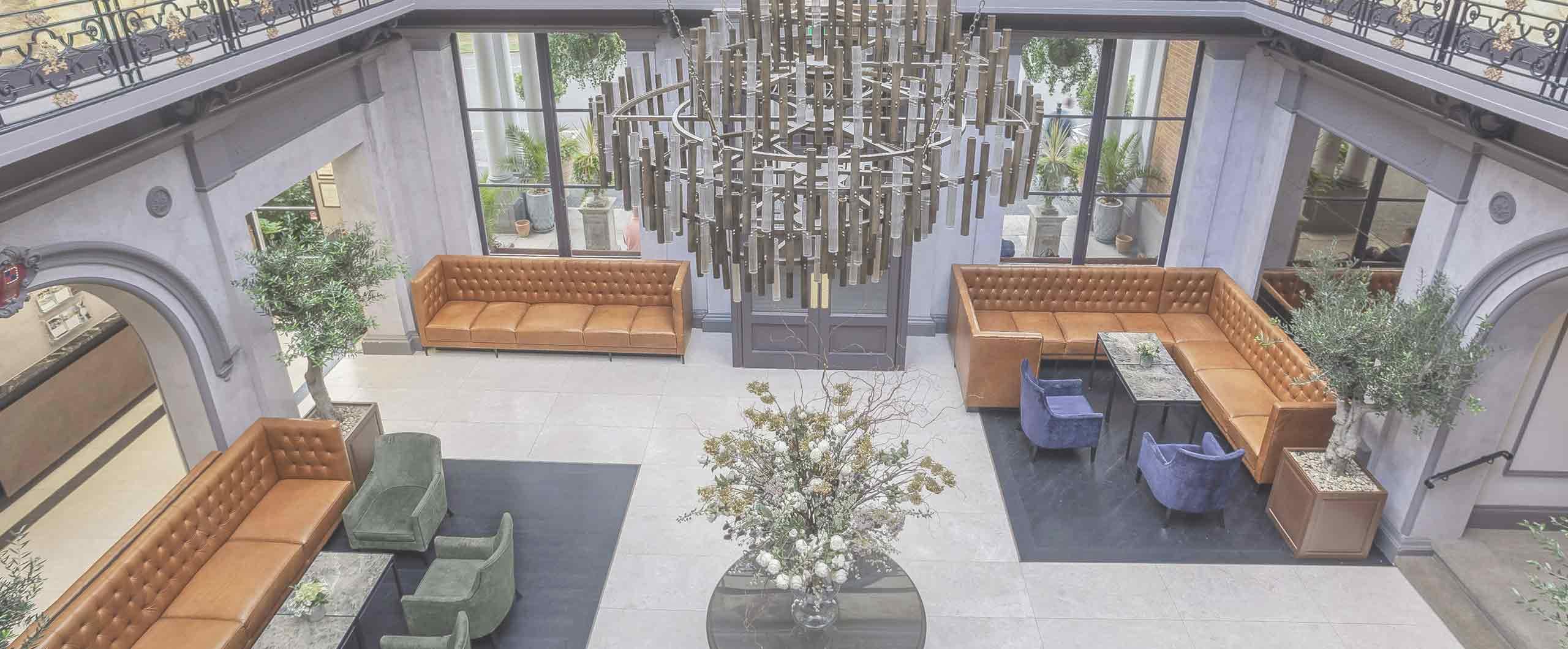 Oatlands Park Hotel foyer