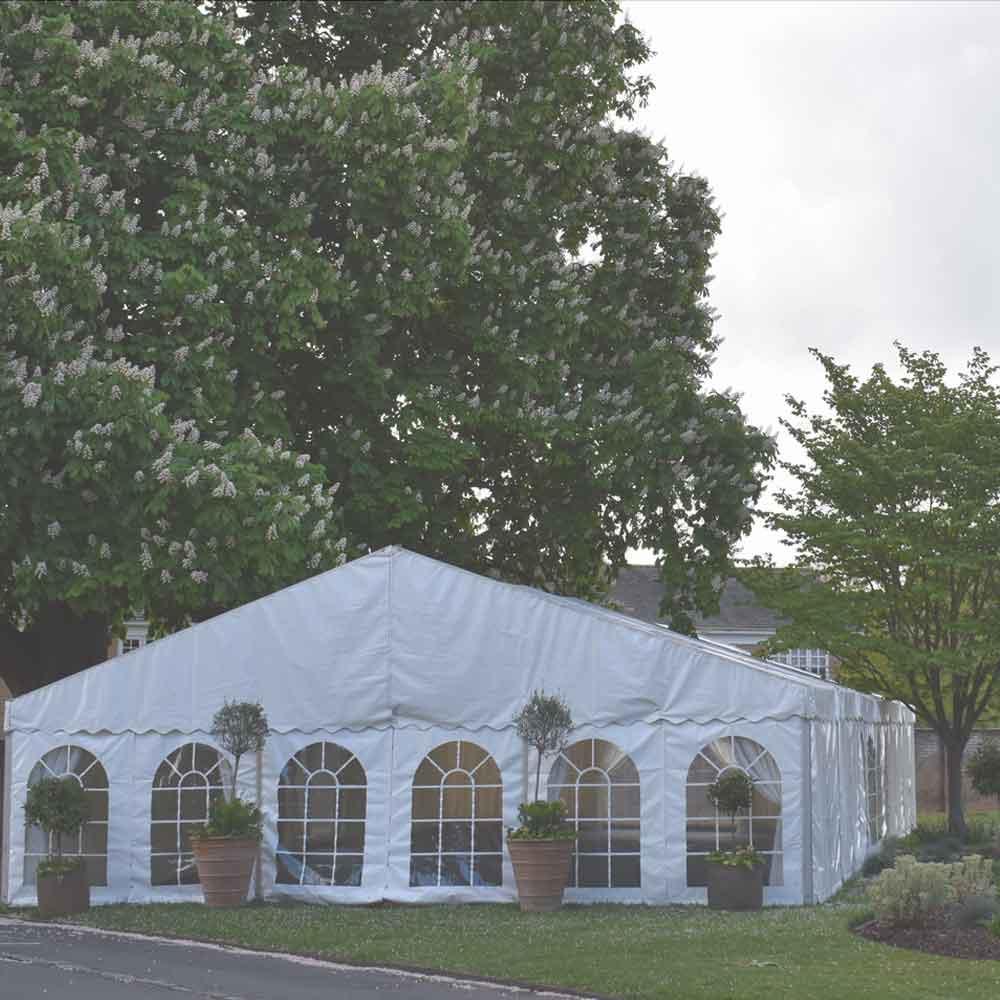 Marquee wedding venue