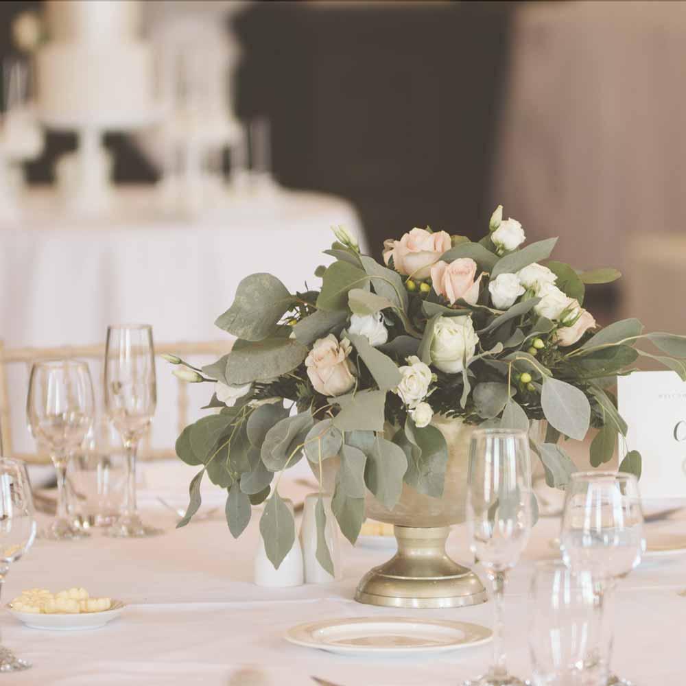 Wedding flowers Surrey venue