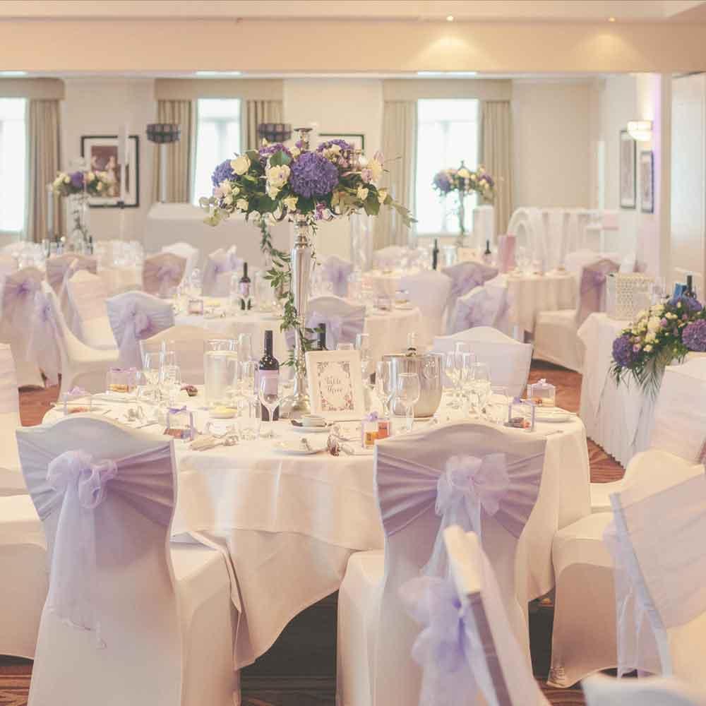 York Suite wedding reception venue