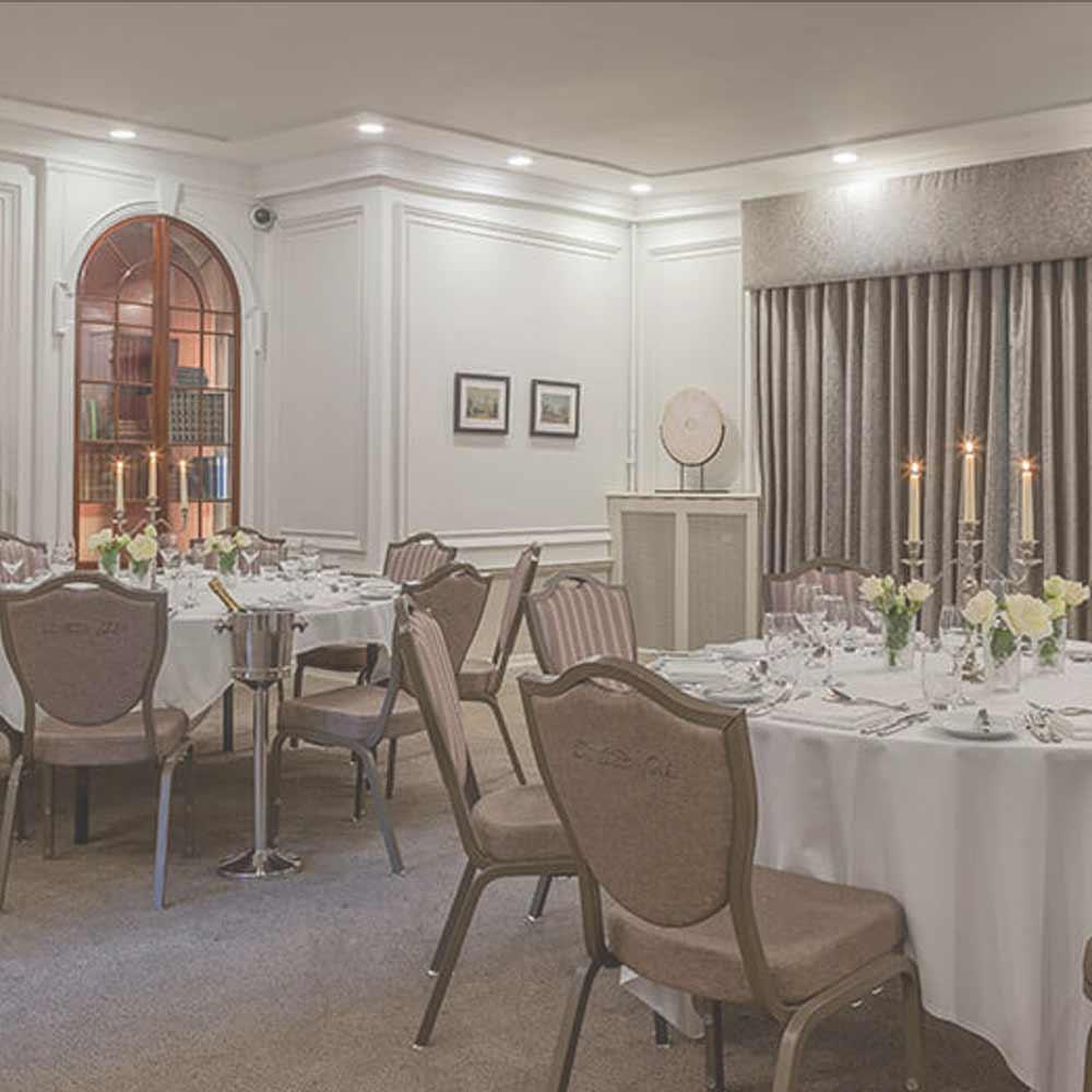 Private dining at Oatlands Park Hotel