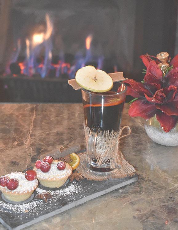 Christmas cocktails in Weybridge