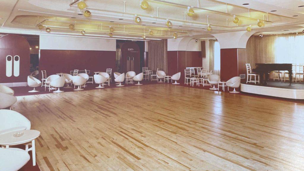 The old ballroom